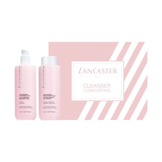 lancaster set cleanser softening 2 piezas