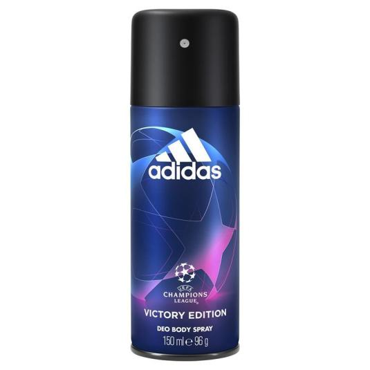 adidas uefa champions league victory desodorante spray 150ml
