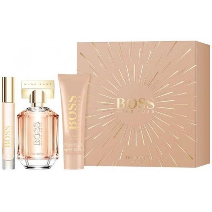 boss the scent for her eau de parfum cofre regalo 3 piezas