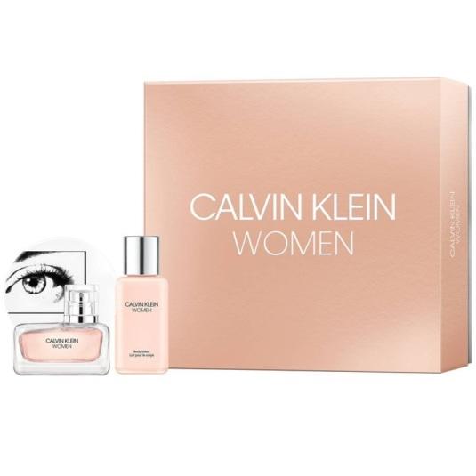 calvin klein calvin klein women eau de parfum 100ml set 2 piezas