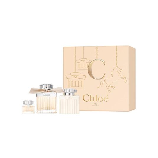 chloe eau de parfum cofre regalo 3 piezas