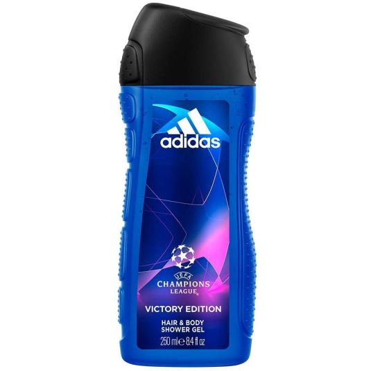 adidas uefa champions league victory gel de ducha 400ml
