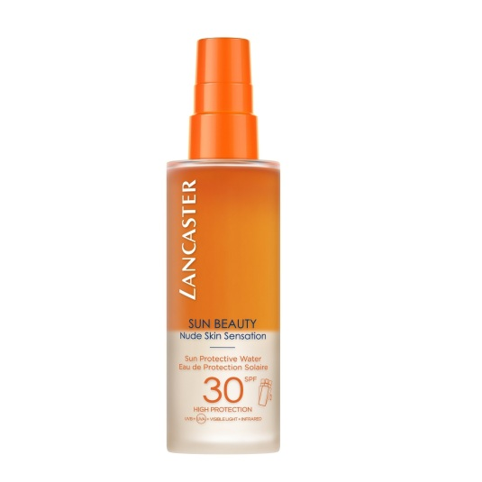lancaster sun beauty sun protective water spf30 protector solar spray 150ml