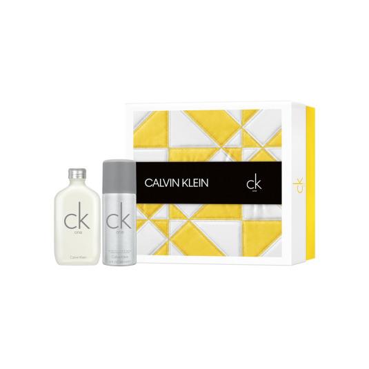calvin klein ck one eau de toilette unisex cofre regalo 2 piezas