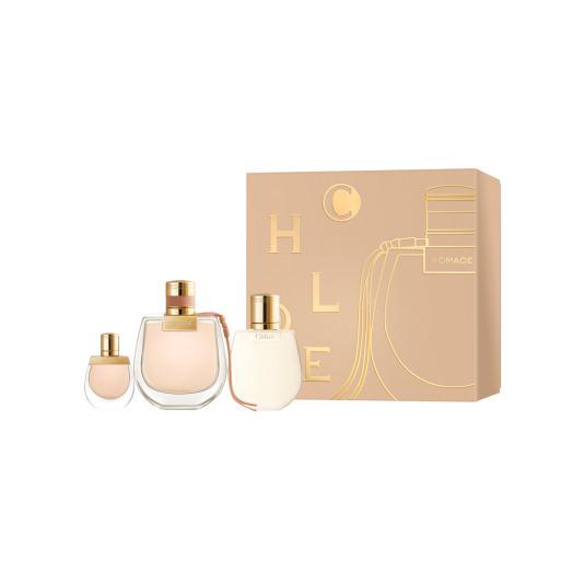 chloe nomade eau de parfum cofre regalo 3 piezas