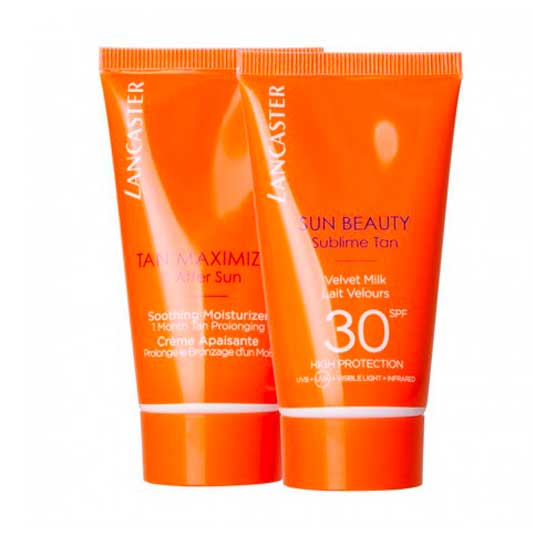 lancaster sun beauty leche corporal spf30 50ml + aftersun 50ml