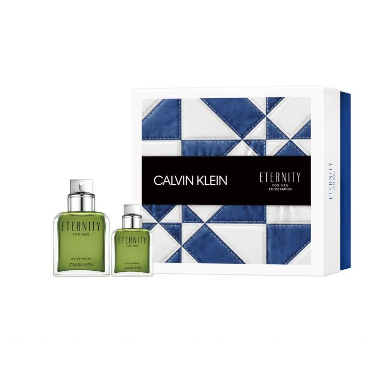 calvin klein eternity for men set regalo 2 piezas