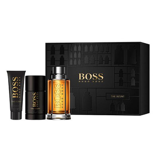 boss the scent edt 100ml+ deo 75ml+ gel