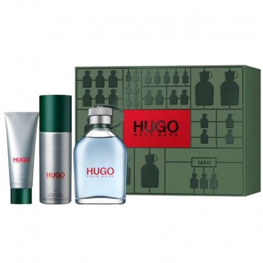 hugo man edt 125ml+ deo 150 + gel 50ml