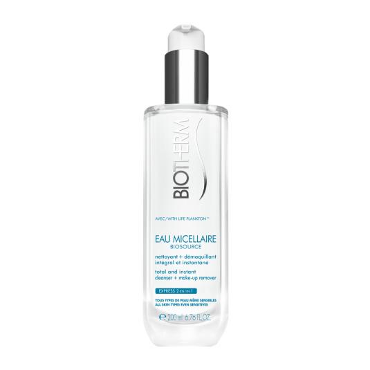 biotherm biosource eau micellaire agua micelar limpiadora piel sensible