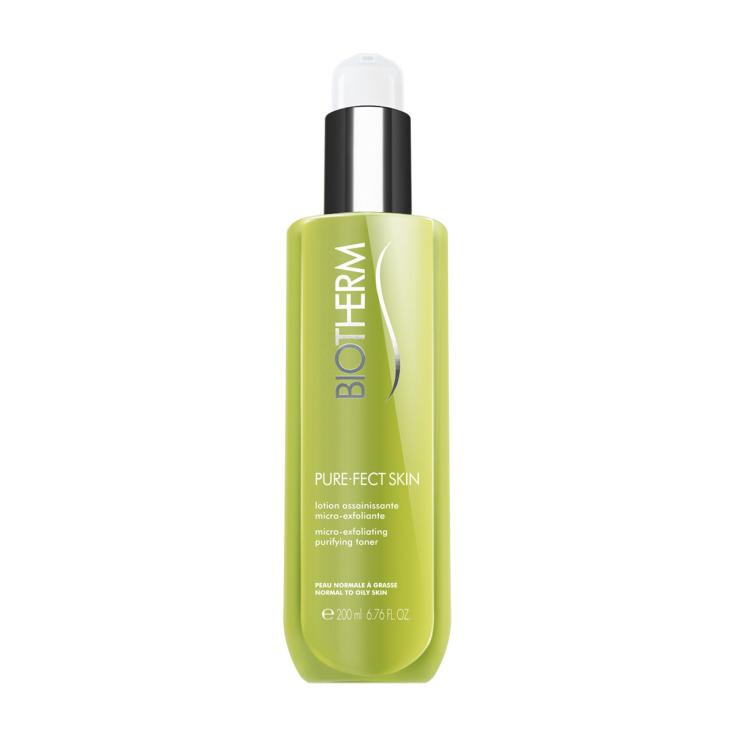 biotherm purefect skin tonico exfoliante facial 200ml