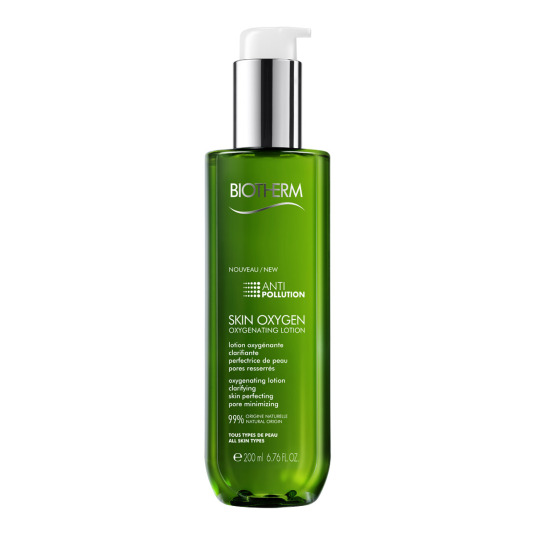 biotherm skin oxygen tónico facial limpiador 200ml