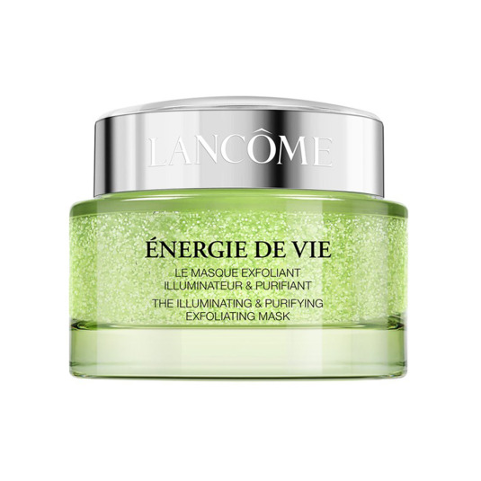 lancome energie de vie green melisse mascarilla facial exfoliante 75ml