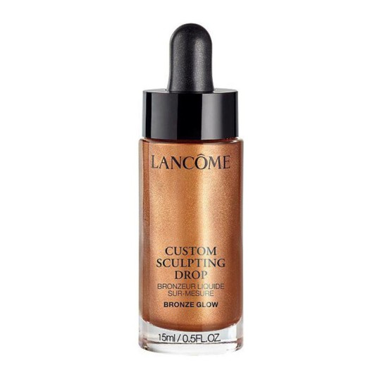 lancôme custom glow drops bronze iluminador ultra-concentrado 15ml