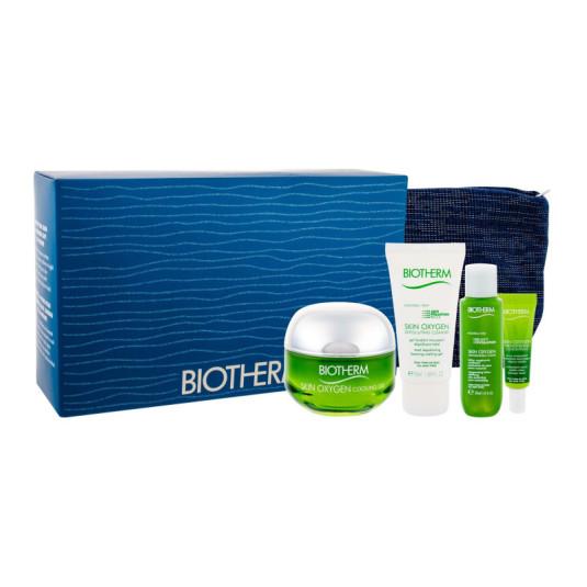 biotherm skin oxygen cooling gel 50ml gift set 4 piezas