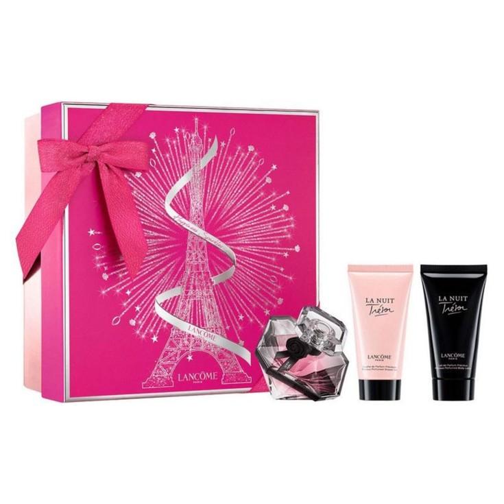 trésor la nuit eau de parfum 50ml cofre regalo 3 piezas