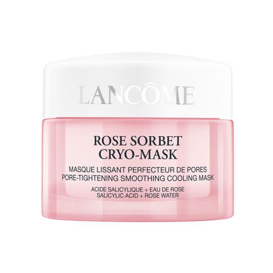 lancome confort rose sorbet cryo-mask mascarilla facial refrescante reductora de poros 50ml