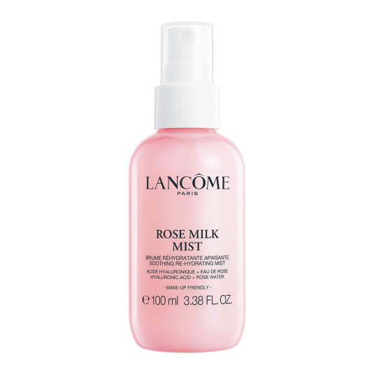 lancome confort rose milk mist bruma facial hidratante 100ml