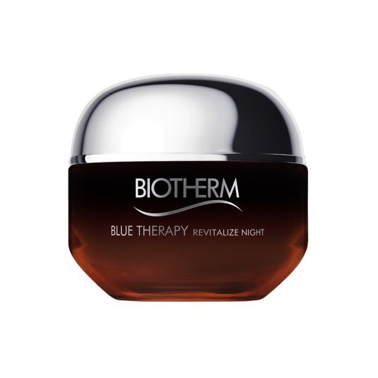 biotherm blue therapy amber algae crema de noche antiedad 50 ml