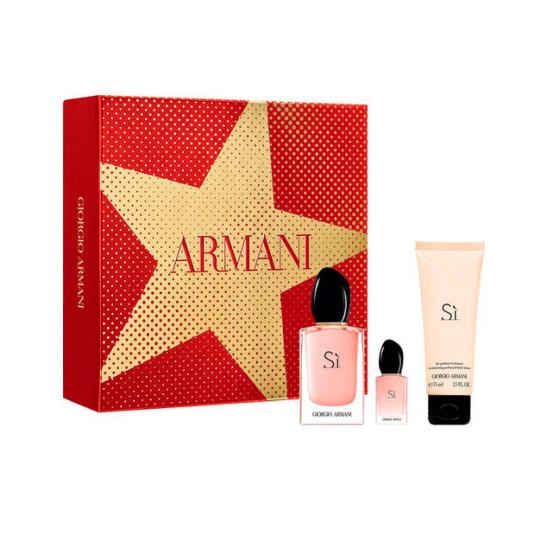 armani sì eau de parfum cofre regalo 3 regalos