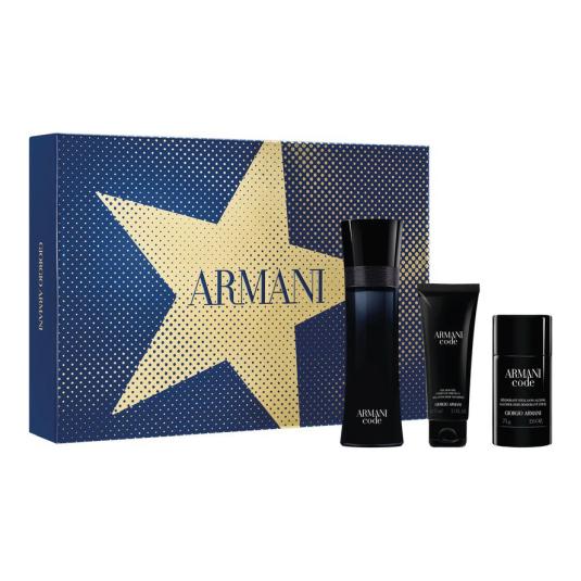 armani code homme eau de toilette cofre regalo 3 piezas