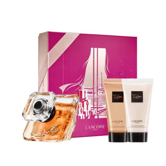 trésor eau de parfum 50ML cofre 3 piezas