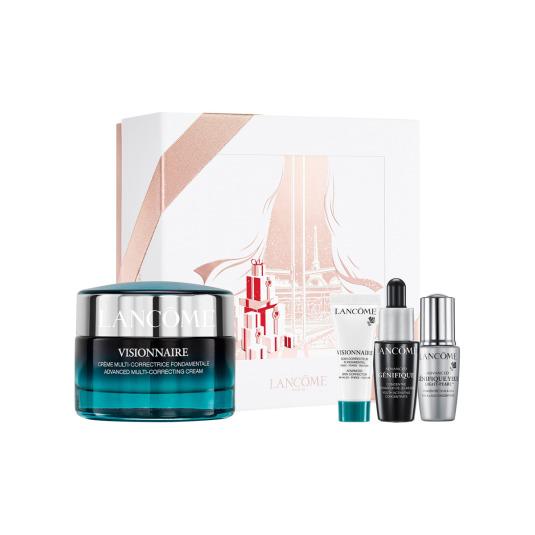 lancome visionnaire crema set regalo 4 piezas
