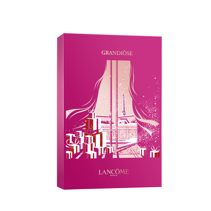 lancome grandiose mascara de pestañas noir mirific gift set maquillaje 3 piezas