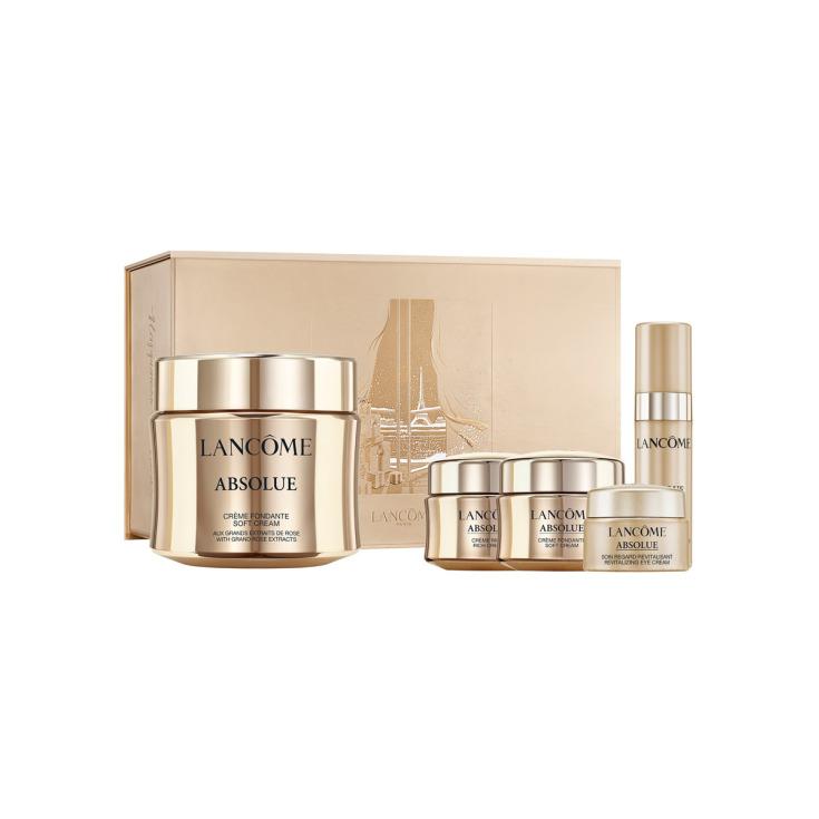 lancome absolue soft crema set regalo 5 piezas