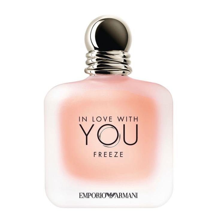 giorgio armani in love with you freeze eau de parfum ed. limitada