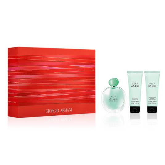 giorgio armani acqua di gioia eau de parfum 100ml set 3 piezas