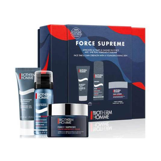 biotherm force supreme youth architect homme set regalo 3 piezas