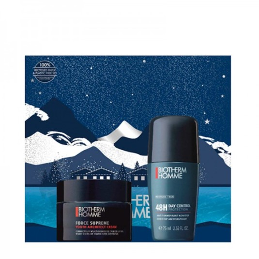 biotherm homme force supreme youth architect 50ml set 2 piezas