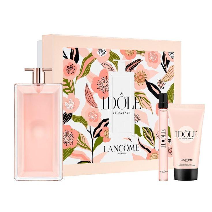 lacôme idôle eau de parfum 100ml cofre 3 piezas
