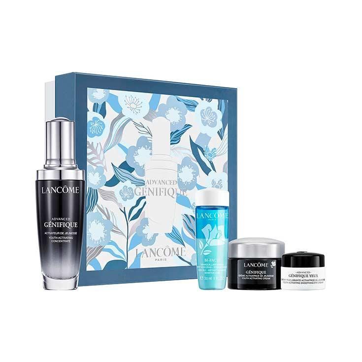 lancome advanced genifique serum 50ml set 4 piezas