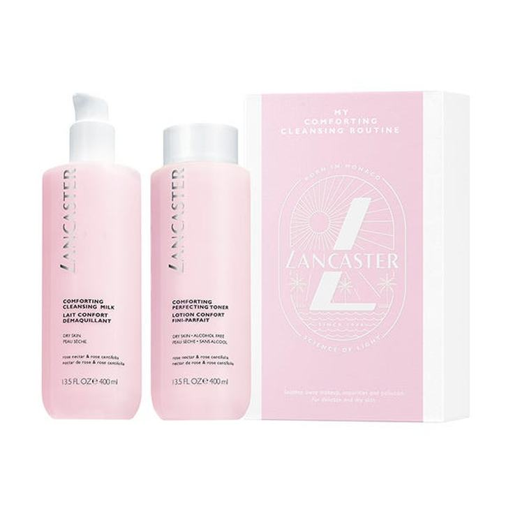 lancaster duomy comforting cleansing routine duo limpieza facial