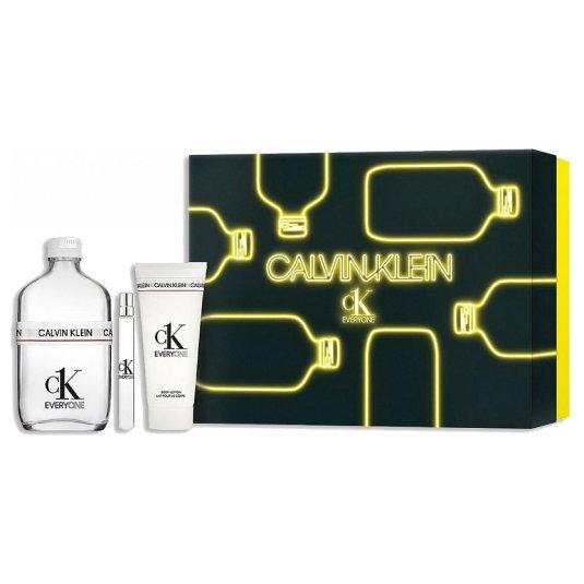 calvin klein ck everyone eau de toilette 200ml cofre 3 piezas