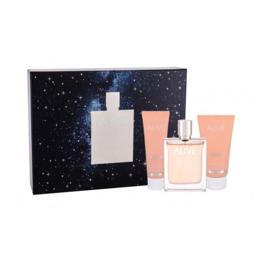boss woman alive eau de parfum 80 cofre regalo 3 piezas