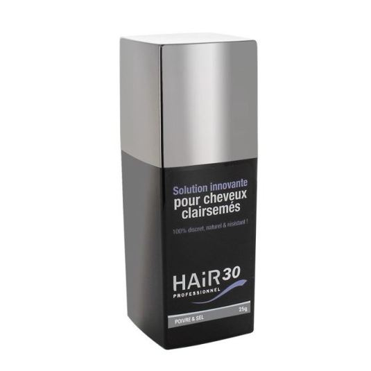 hair 30 professionnel sal y pimienta tratamiento capilar anticaida 25g