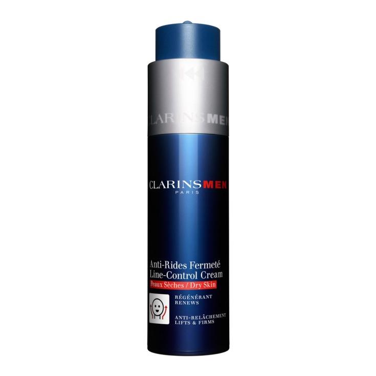 clarins men crema anti-arrugas firmeza pieles secas 50ml
