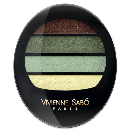 vivienne sabó quatre nuances paleta de sombra de ojos 72
