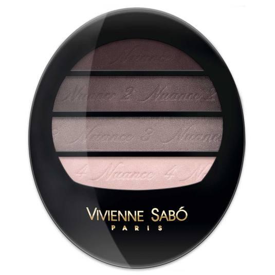 vivienne sabó quatre nuances paleta de sombra de ojos 73