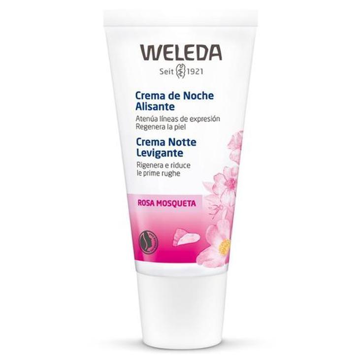 weleda crema alisante de noche rosa mosqueta 30ml