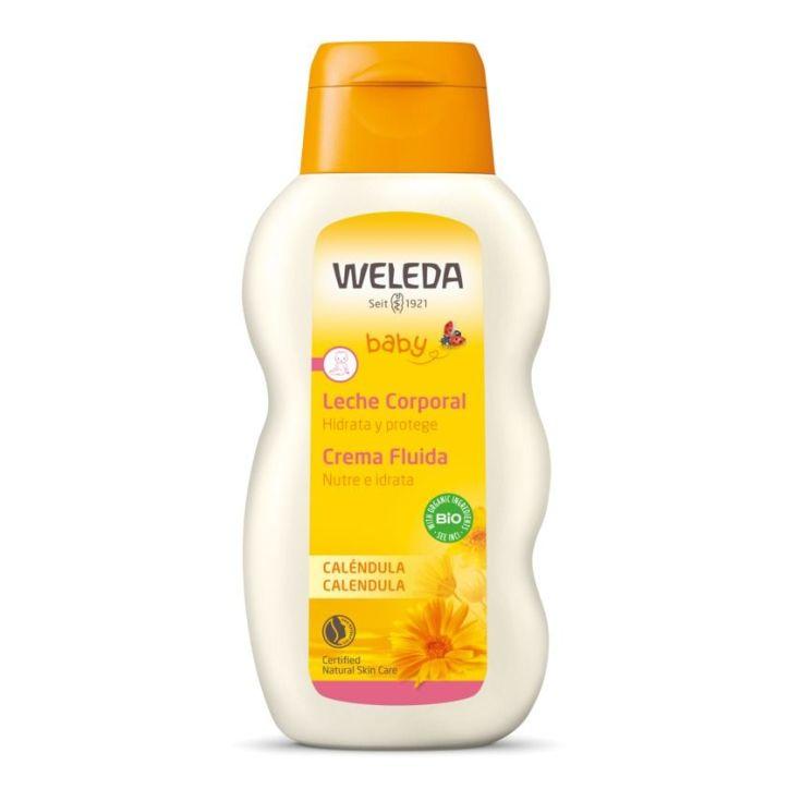 weleda leche corporal de calendula bebe 200ml