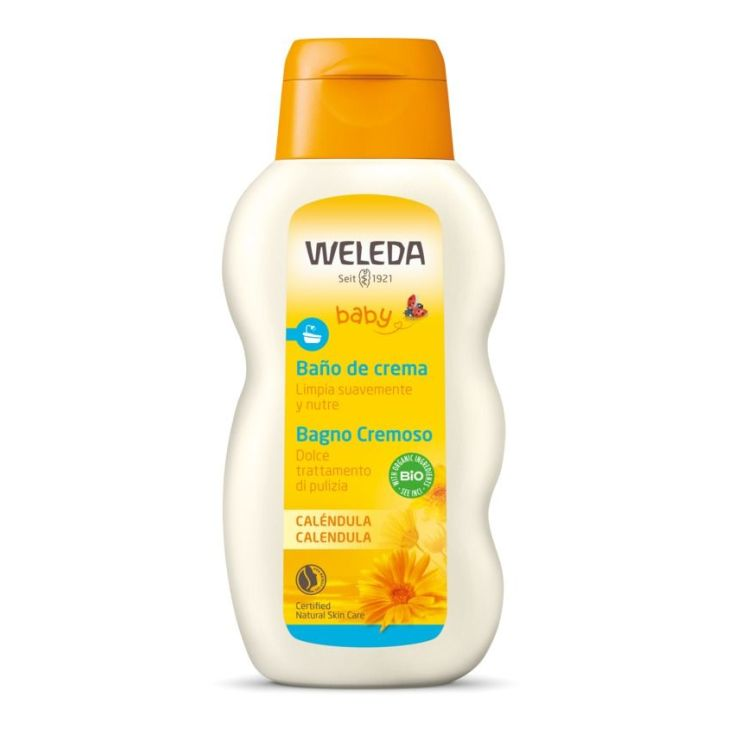 weleda crema de baño calendula bebe 200ml