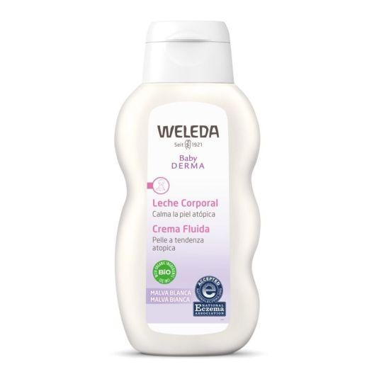 weleda bebe leche corporal de malva blanca 200ml