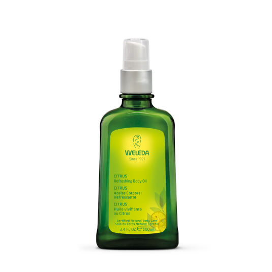 weleda aceite corporal refrescante citrus 100ml