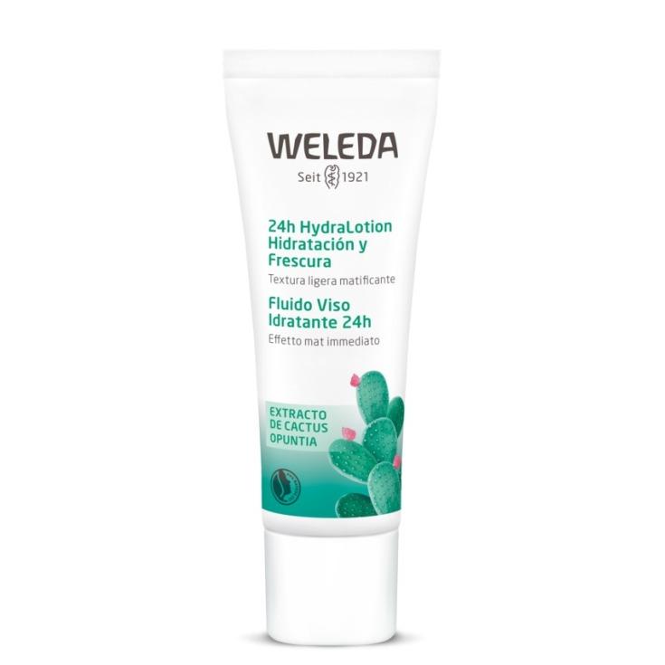 weleda 24h hydralotion hidratacion y frescura 30ml