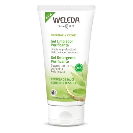 weleda naturally clear gel limpiador purificante facial 100ml