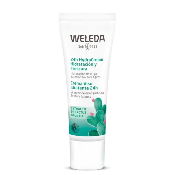 weleda 24h hydracream crema hidratacion y frescura 30ml